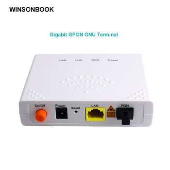 GPON ONU FTTO 1GE 1port FTTH ONT Single LAN Port OLT 1.25G Gpon  Fiber to home FTTB
