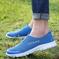 2016 Snmmer Homens Marca Apartamentos Calçado para Homens Sapatas Dos Homens Zapatos Hombre Zapatillas Deportivas Sapatos de Caminhada Masculinos Plus Size 39-46