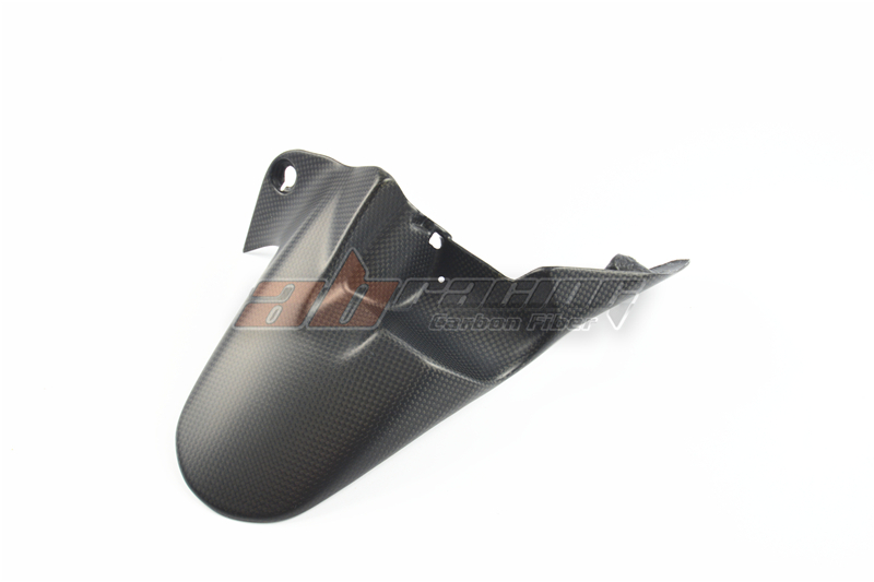 Rear Mudguard Fender For Ducati Monster 1200 / s  Full Carbon Fiber 100% cube race mudguard rear