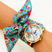 Shsby New Woman's Watch Fashion Luxury Ladies Quartz Wristwatch Top Brand Floral