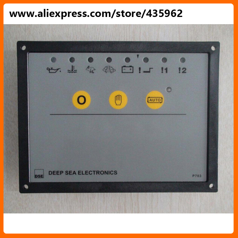 Deep Sea 703 Genset Control Module high quality Generator spare part free shipping deep sea generator set controller module p5110 generator control panel replace dse5110