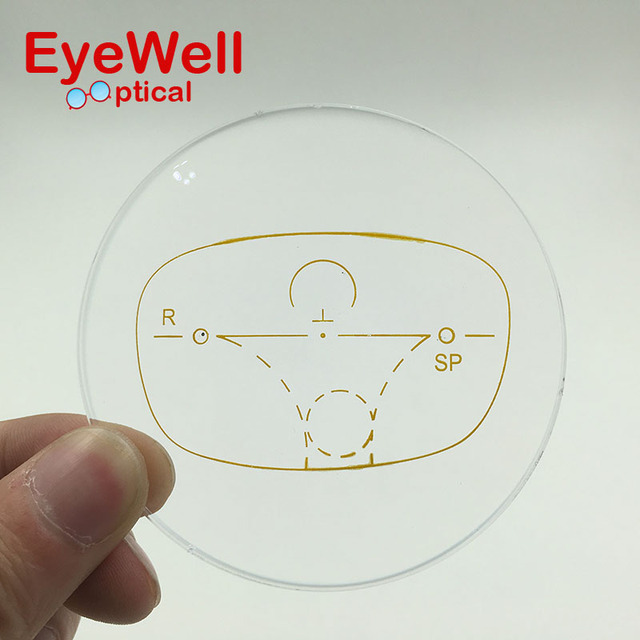 1.56 Standard Progressive Lenses Multifocal Eyeglasses for Myopia and Presbyopia Optical Lens Customized Lens to See Far Near