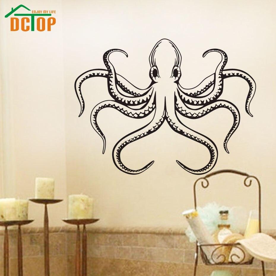 dctop ocean sea animal wall decal sticker octopus gallery for gt ocean wall decals