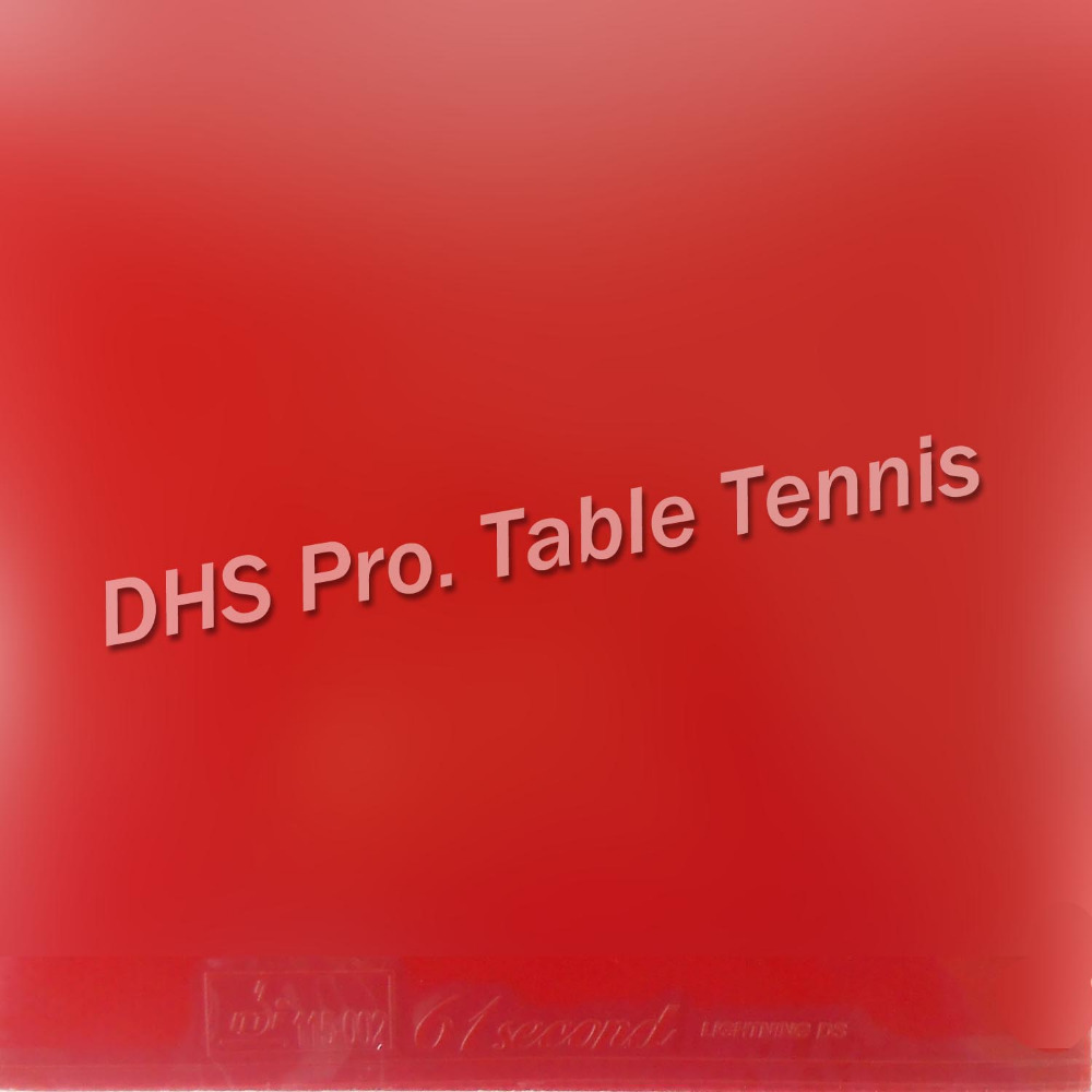 New Blue Version 61second Lightning DS Pro. Table Tennis Rubber Pips In With Blue Sponge