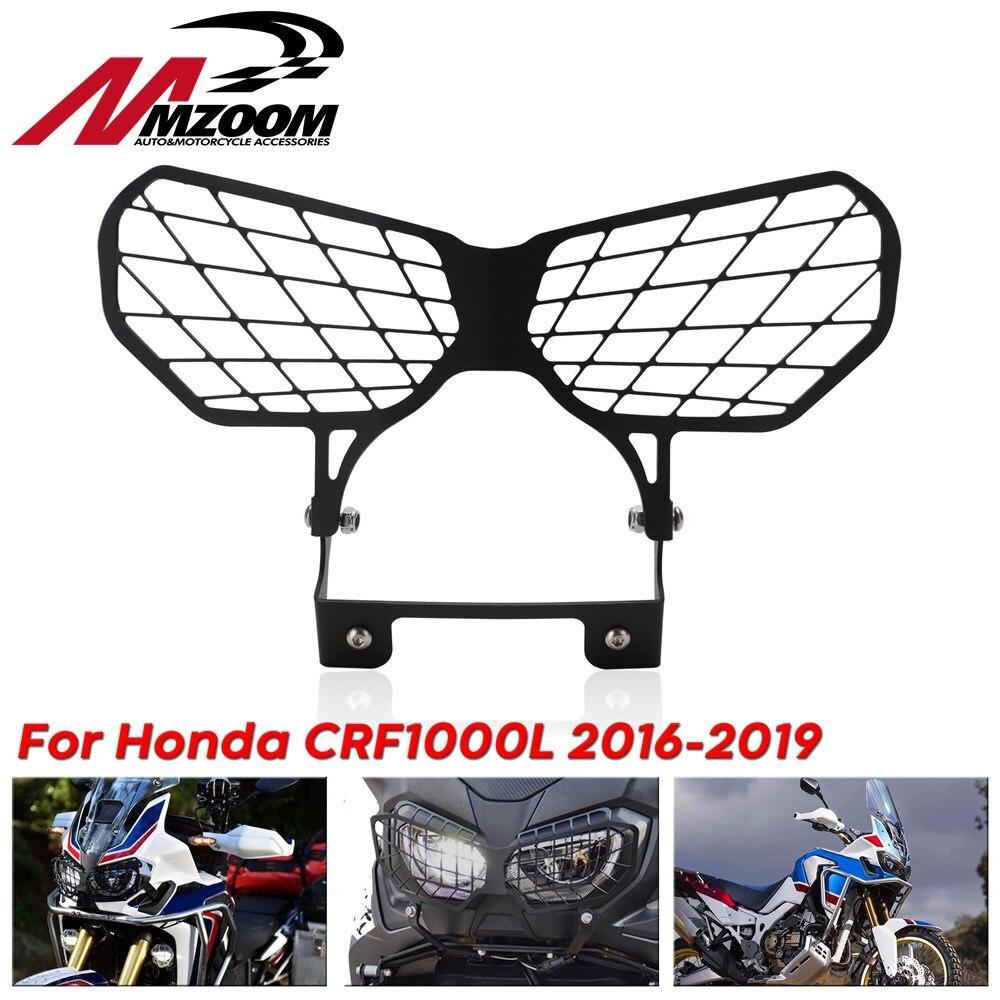 Pour Honda CRF1000L CRF 1000L Africa Twin 2016-2017 16 17 accessoires de moto garde calandre protecteur moto phare couverture