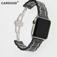 Ceramic High quality Silicone WatchBands Multicolor Choice 38mm 42mm New Watch Band Suit Apple New Without Tags Watch Strap