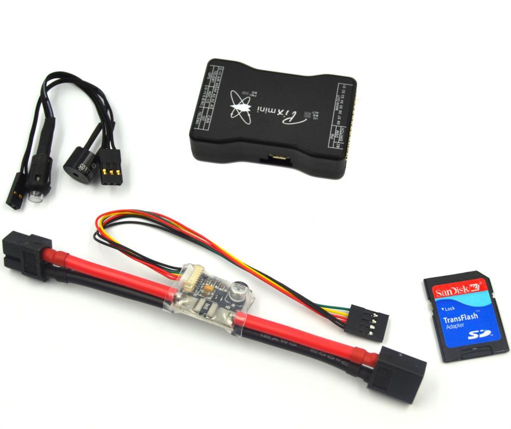 drone Mini Pixhawk Flight Controller 32bit ARM Pixhawk2.4.6 Hardware w/ Power Module