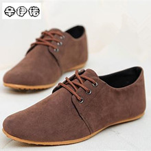 2017 Limited Sale Cotton Fabric Breathable Pu Solid Lace-up Mens Casual Shoes For Fashion Flats Brand Zapatos De Hombre 39-46