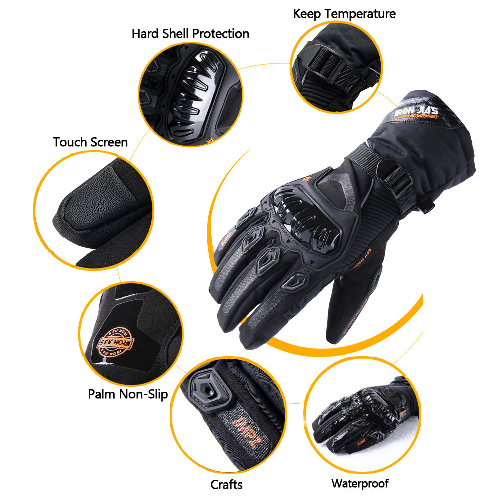 Motorcycle gloves palm protection - Aliexpress Com Buy Motorcycle Gloves Touch Screen Winter Warm Waterproof Windproof Protective Gloves Guantes Moto Luvas Alpine Motocross Stars From