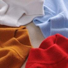 -Cachemira de calidad suéteres mujeres moda Otoño Invierno mujer suave y cómodo cálido Slim jerséis de Cachemira