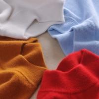 Autumn Winter Half Turtleneck Shirt Women Sweater Cashmere Basic Sweater Long Sleeved Sweater Pullover Sweater Wool