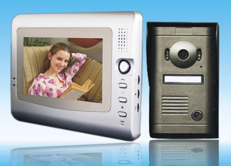 7 Inch Color Screen  Wired Intercom Video Door Phone