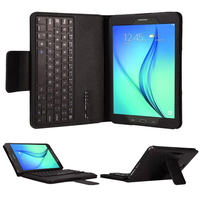 Removable Bluetooth Keyboard Portfolio Folio PU Leather Case Cover For Samsung GALAXY Tab A 8.0 T350 T351 T355 P350 P355