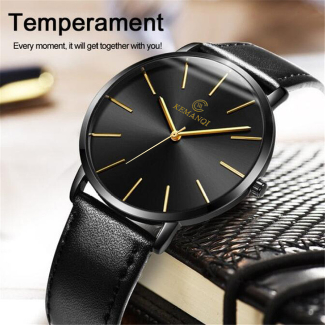 Relogio Masculino Mens Watches Top Brand Luxury Ultra-thin Wrist Watch Men Watch Men's Watch Clock erkek kol saati reloj hombre 2
