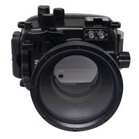 Mcoplus Canon M6 40m/130ft waterproof underwater camera Housing case for Canon EOS M6 Camera