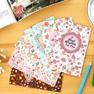 Bonne Chance Meilleurs Voeux Mini Taille Vintage Fleur Cerise Et Feuille Conception Carte De Avec Enveloppe Dans Cartes Visite Fournitures