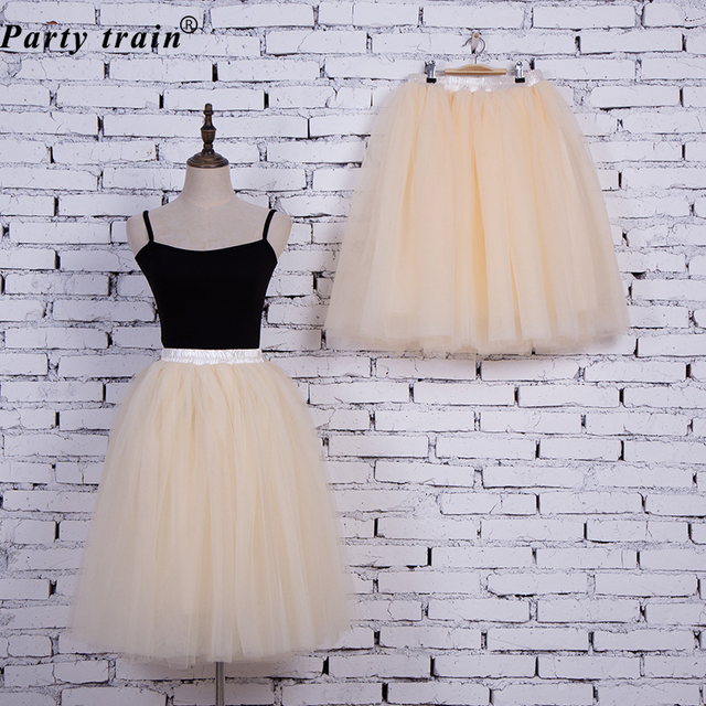 Fashion Tulle Skirt Pleated Tutu Skirts
