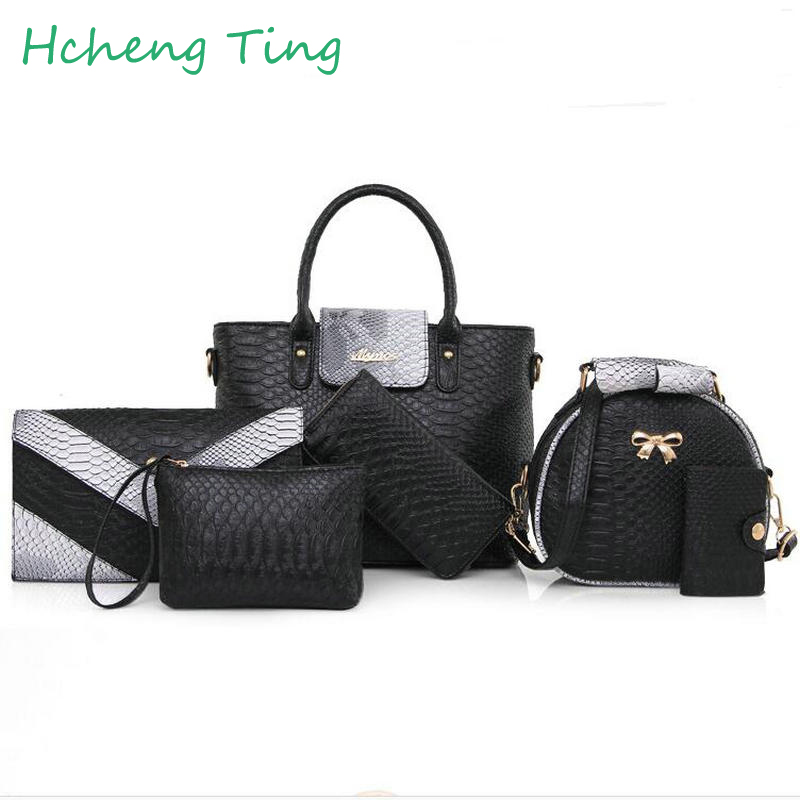 Women Bags Fashion Large Tote Crocodile Bag Ladies font b Handbag b font Famous Brands Bolsas
