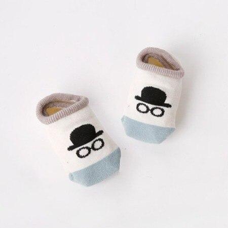 Chaussettes enfants coton été nouvelles chaussettes bébé dessin animé Elf chaussettes de sol anti-dérapant bébé bateau chaussettes