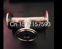 OD 19mm 3 4 3 Way Tee Sanitary Ferrule Pipe Fitting Stainless Steel 304