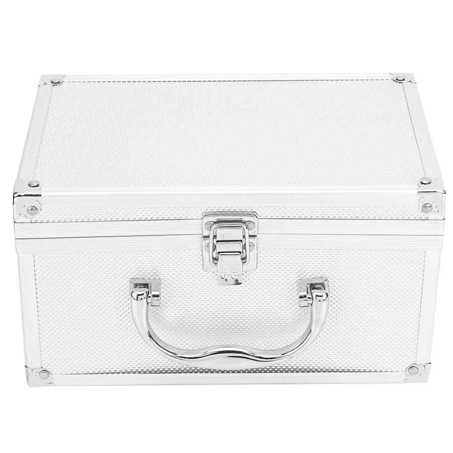 230*150*125 мм алюминиевый сплав ящик для инструментов портативный дисплей ящик для инструментов багаж чемодан для путешествий Органайзер кейс инструменты