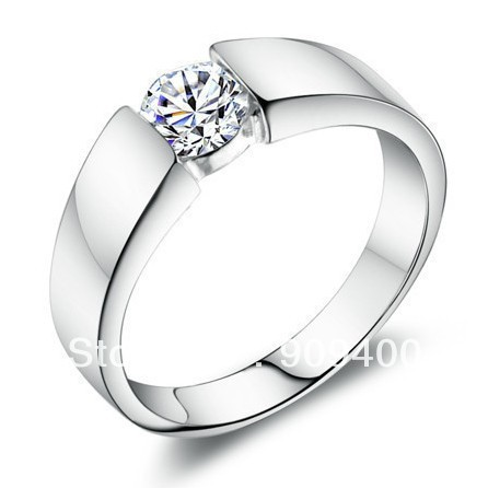 white gold women rings 30 925 sterling silver charms cz austrian crystal wedding rings for - Men And Women Wedding Rings