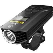 Nitecore br35 велосипед света двойной расстояние луча Перезаряжаемые велосипед свет 2xcree XM-L2 U2 1800lm + Встроенный 6800 мАч Батарея пакет