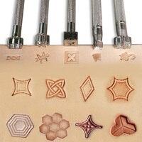 Качественный кожаный инструмент для печати прецизионный гравировальный станок Сделай Сам кожевенное ремесло инструменты жесткие стальны...