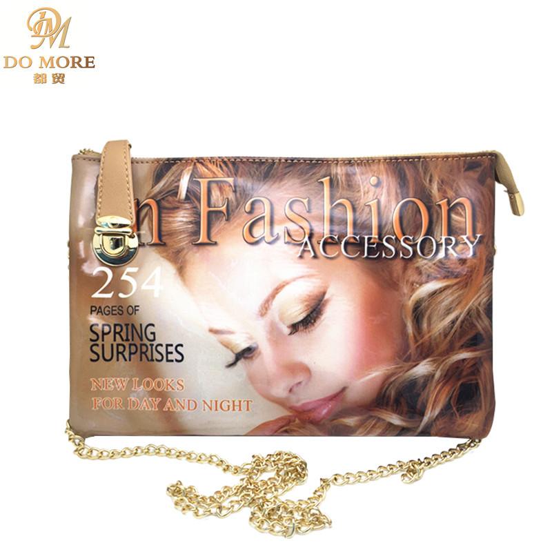 lo nuevo multifuncin bolso de embragues del da mujeres de la portada de la revista cadena
