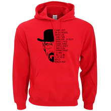 Men's Warm Breaking Bad Printed Sweatshirt