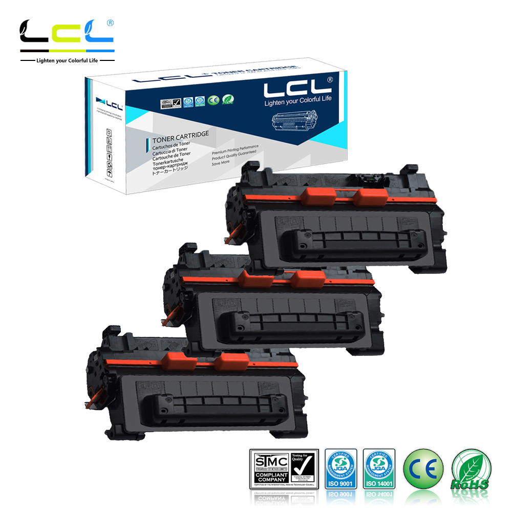 LCL 64A CC364A 64 CC364 364A CC 364 A(3-Pack) Black Toner Cartridge Compatible for HP LaserJet P4014N/P4014DN/P4015N/P4015TN
