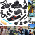 Gopro Accessories 12in1 Outdoor Sports Essentials Kit for Xiaomi Yi 4K Action Camera Go Pro Hero 5 4 3+ 3 2 Sjcam sj5000
