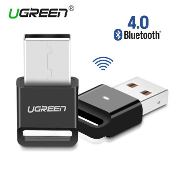 Ugreen Wireless USB Bluetooth Adapter V4.0 Bluetooth Dongle Music Sound Receiver Adapter Bluetooth Transmitter for Computer PC