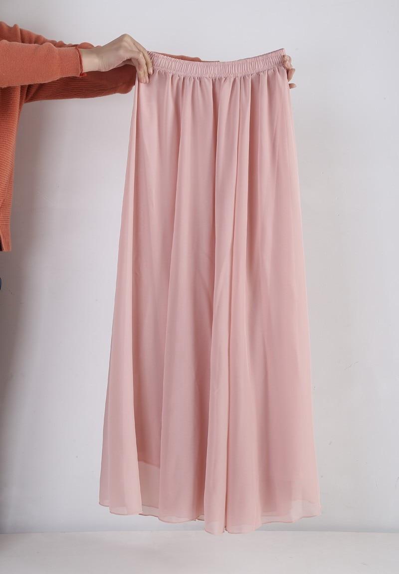 Maxi skirt free shipping-2847