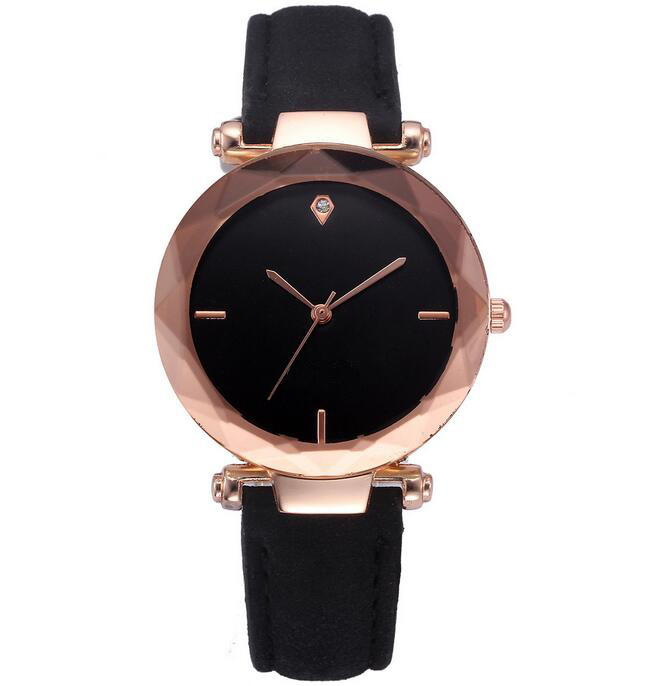 Luxury Brand Leather Quartz Watch Women Ladies Casual Fashion Bracelet Wrist Watch Wristwatches Clock Relogio Feminino Female vansvar brand fashion casual relogio feminino vintage leather women quartz wrist watch gift clock drop shipping 1903