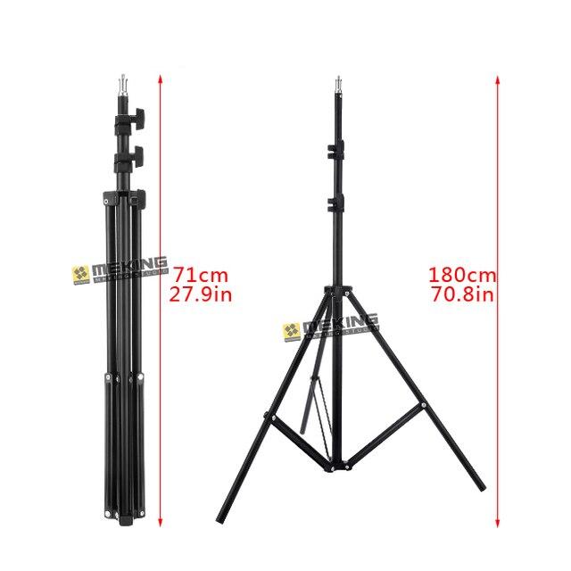 Meking 195 см 78in Свет Стенд W803 штатив для системы поддержки освещения фотографическое держатель нагрузка 3.2 кг