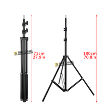 Meking 195เซนติเมตร78inขาตั้งไฟW803ขาตั้งกล้องสำหรับแสงสนับสนุนระบบถ่ายภาพผู้ถือโหลด3.2กิโลกรัม