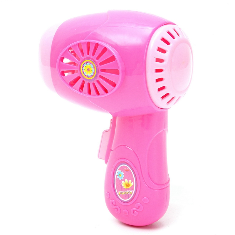 Kids Girls Toy Hair Dryer Make Up Playing Toy Educational