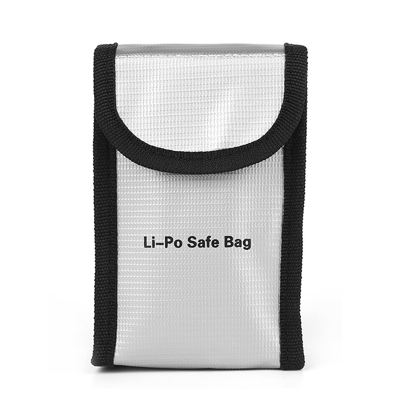 For DJI Phantom 3 4 4K Drone Battery Lipo Safe Bag 2S 3S 4S Battery Fireproof Protective Case Fiber Pouch Protection Bag