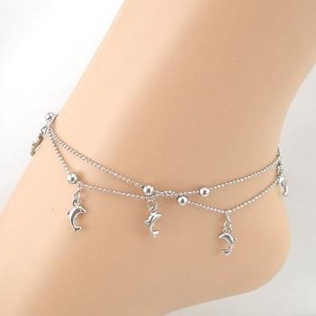 Dolphin Fish Anklet Bracelet2