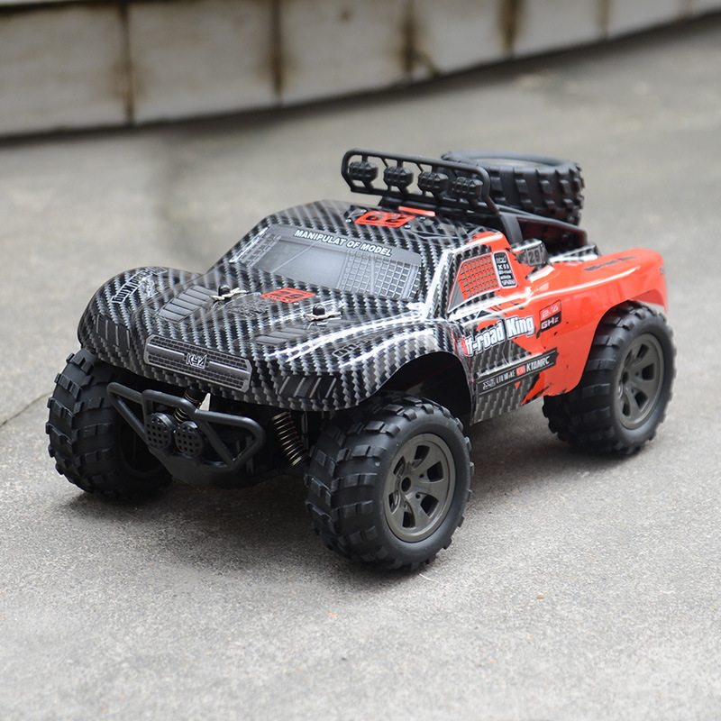 Image 4 - 2.4GHz Wireless Remote Control Desert Truck 1/18 18km/H Drift RC Off Road Car Desert Truck RTR Toy Gift Up to 18km/H Speed-in RC Cars from Toys & Hobbies