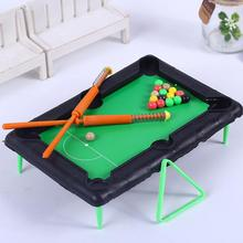 1 set  billiards toy Novelty Funny Board Game Mini Billiards Children Game Toy Kids Toy wooden billiards mini desktop billiards fun billiard game billiards
