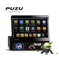 1din PUZU Android 4.4.4 Uniwersalny samochodowy Samochodowy Odtwarzacz DVD z 3G WiFi GPS stereo car Radio DAB + DVBT Audio PZ-DR7090