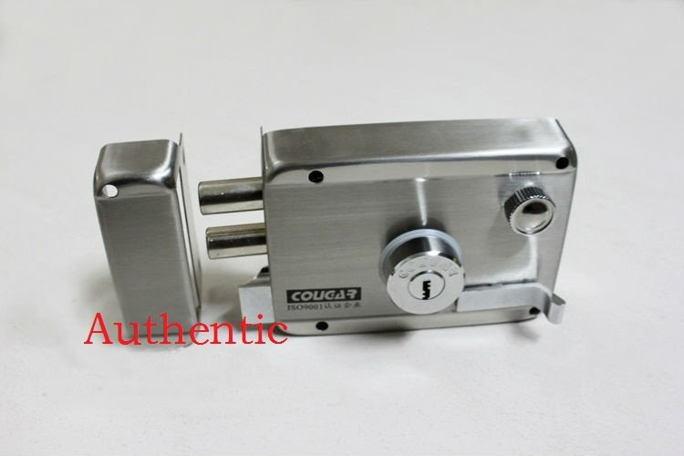 100 quality assurance wholesale door lock stainless steel anti theft lock with lock FREE SHIPPING