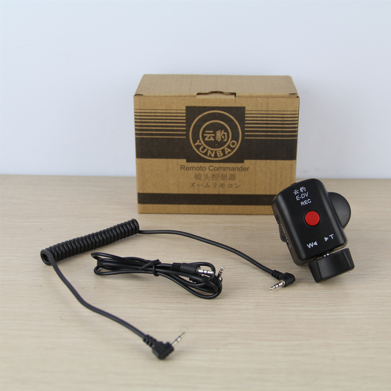 Shutter release zoom remote controller E DV For Sony Canon LANC Panasonic DV 180A 10P A1C