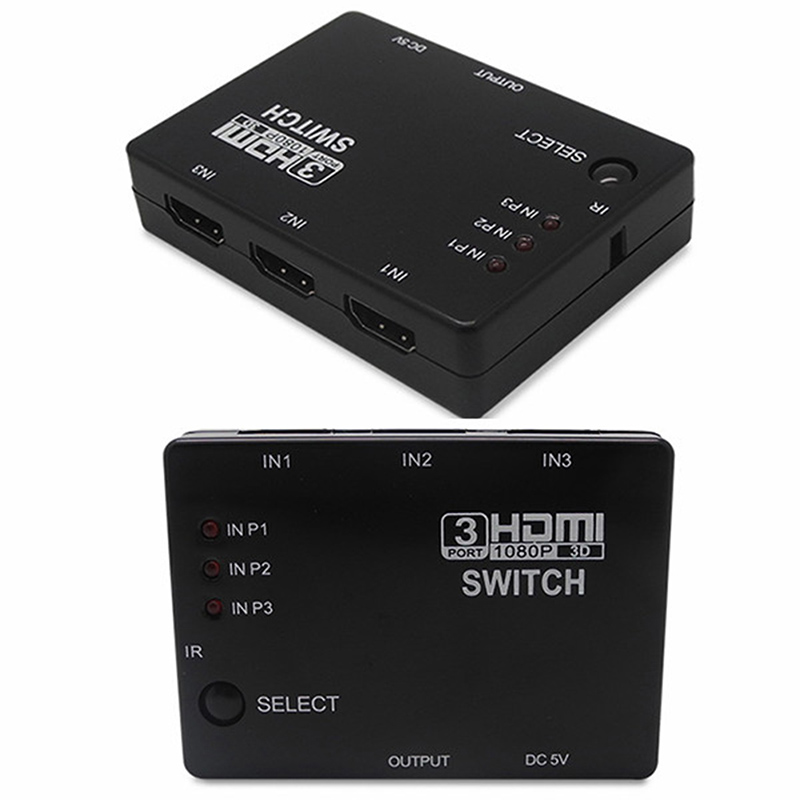 Helpful Mini 3 Port Hdmiv1.3 Port Hdmi Switch Switcher Full Hd 1080p Vedio Splitter Amplifier For Xbox Switch Switcher Drop Shipping Back To Search Resultscomputer & Office