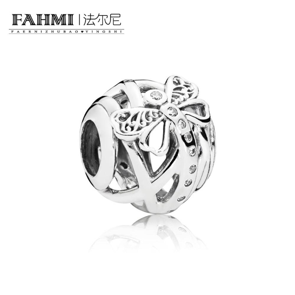 FAHMI 100% 925 Sterling Silver 1:1 Authentic DREAMY DRAGONFLY CHARM Bracelet  Original  Women  Jewelry 797025CZFAHMI 100% 925 Sterling Silver 1:1 Authentic DREAMY DRAGONFLY CHARM Bracelet  Original  Women  Jewelry 797025CZ