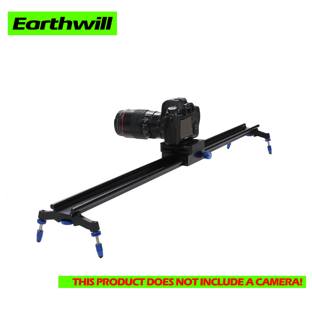 Photographic equipment video phone dolly dslr camera slider 60cm aluminum alloy Rail Systems Smooth Mute adjustable 1pcs image