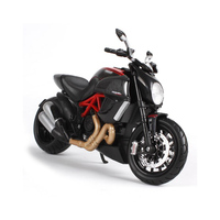 1 12 Dukati Big Diavel Motorcycle Simulation Alloy Car Model YZF R1 Scale Die Cast Model