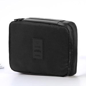 Image 5 - Travel Use Capacity Bathroom Cosmetics Organizer Toilets Package Makeup Bag Woman Cosmetic Storage Organizer